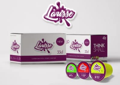 Packaging for Larisse Carbonated Zobo Drink