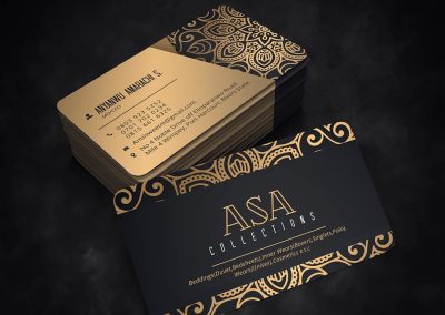 Asa Collections Business Card