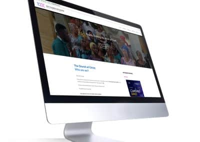 Web Design for The Church of Christ